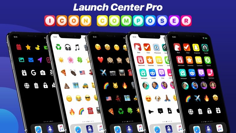 Launch Center Pro Gains New Icon Composer Feature