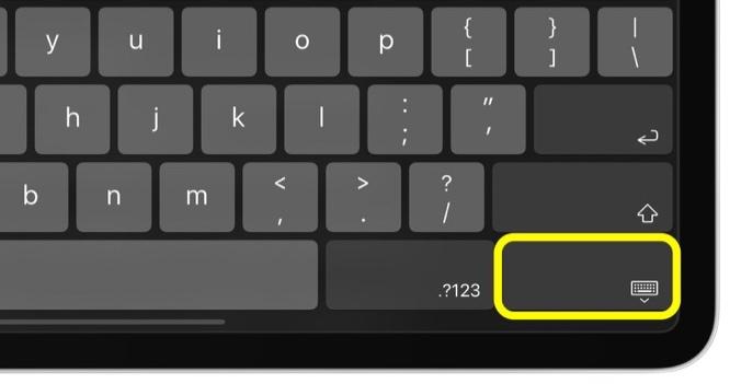 浙江快三长龙_花少钱中大奖_iPadOS 教程 | 如何在 iPad 上使用屏幕浮动键盘?