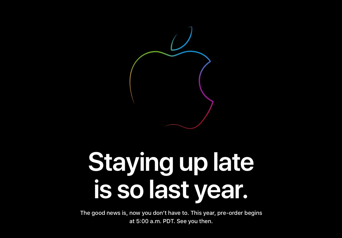 Apple Store Down Ahead of iPhone 11 and iPhone 11 Pro Pre-Orders