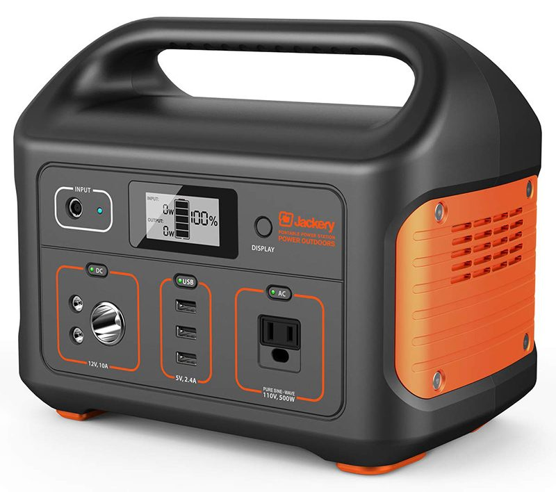 MacRumors Giveaway: Win a Jackery Explorer 500 Portable Power Station and Solar Charger