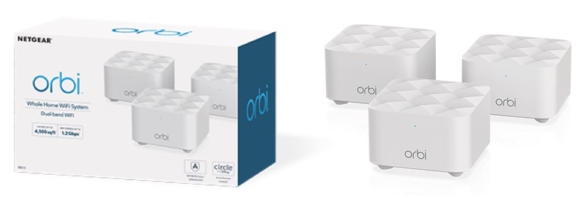 Netgear Launches New Orbi Dual Band Mesh Wi-Fi System for $230