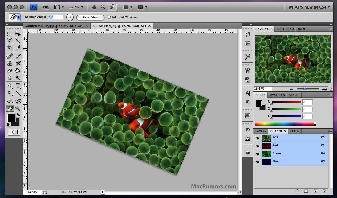 Adobe Photoshop CS4 Interface and Screenshots [Updated] - Mac Rumors