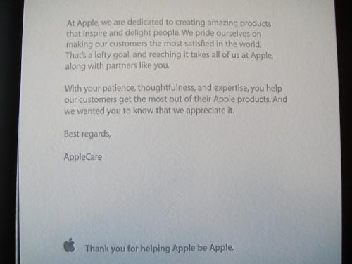 Apple Employee T Shirt Unboxing Photos Mac Rumors
