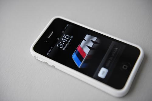 iphone 4 white bumper. iPhone 4 accessory