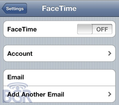 FaceTime For IPad And IPod Touch To Be Linked To Email Addresses
