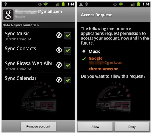 how to get music off of itunes onto android