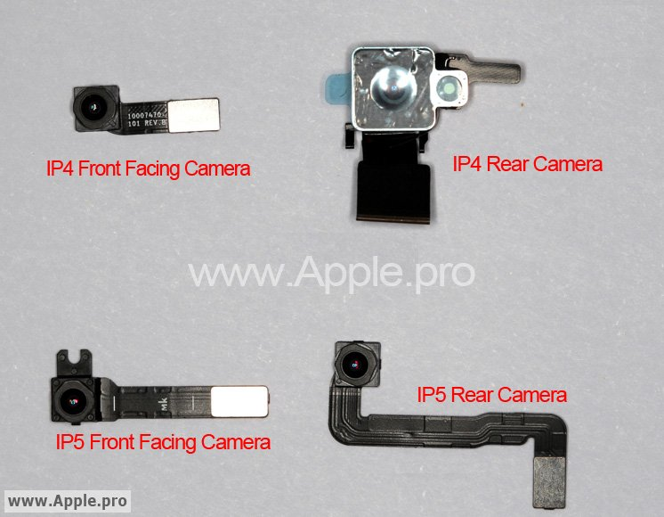 IPhone  Camera Parts Show No Attached Flash Mac Rumors - Front door camera iphone