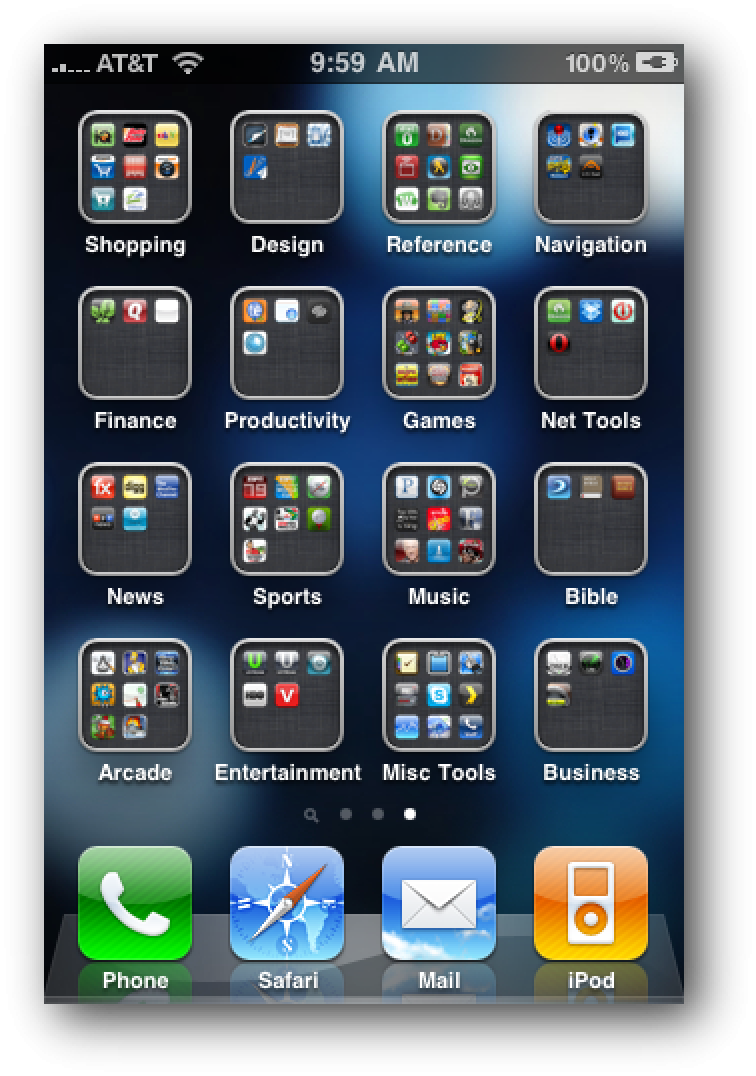 iphone app folder restoring your ios device with folder organization intact 11594