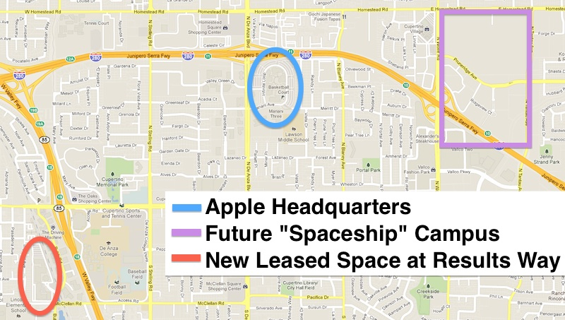 the apple cupertino office