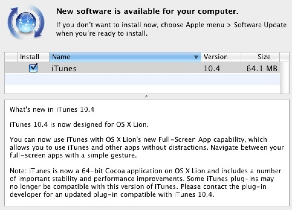 itunes 10.5 64 bit download