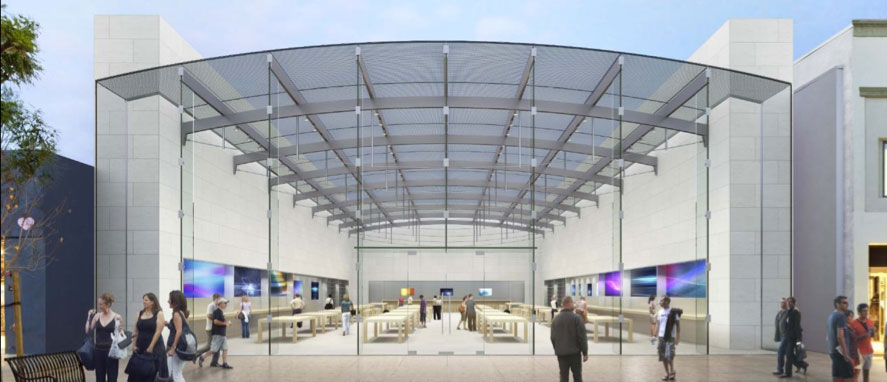 Apple Proposing A Massive Glass Roofed Retail Store On The