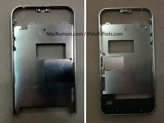 The Mid Frame Images Above Show That This So Called IPhone 4S Will Have Two Antenna Breaks At Bottom Of Casing Differs From Both ATT
