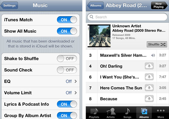iTunes Match' Allows Both Streaming and Downloading of Music