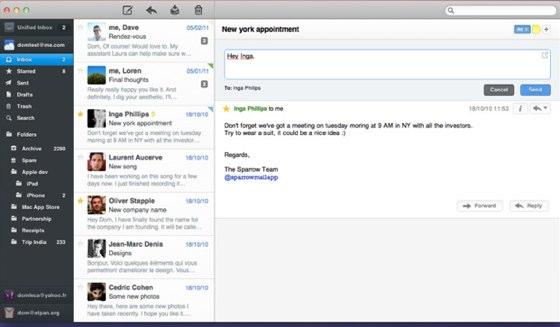 Sparrow Developer Working on iPhone Version - MacRumors