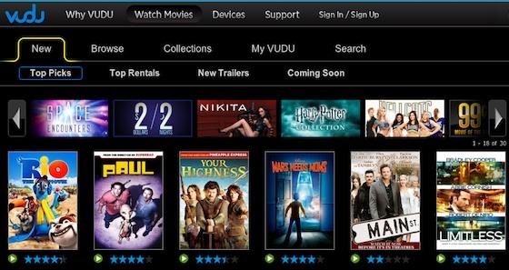 Wal-Mart Debuts VUDU Movie Service on iPad as Web App