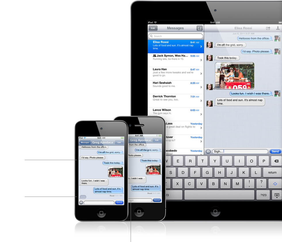 AirPlay Mirroring and iMessage Coming to Mac OS X Lion