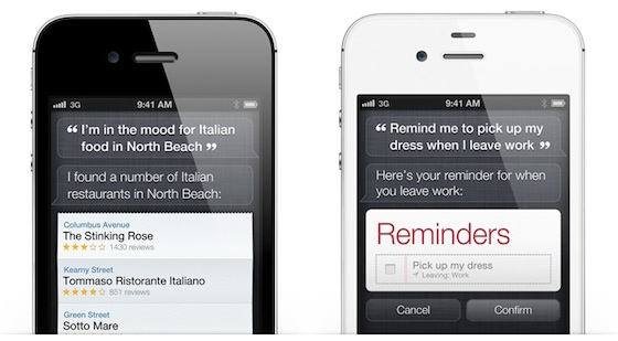 Siri Voice Recognition Arrives On the iPhone 4S - MacRumors