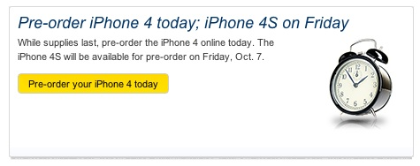 sprint iphone pre order sprint opens iphone 4 pre orders iphone 4s follows 1726