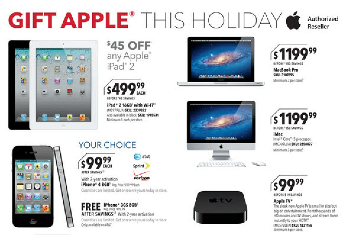 Apple Retailers Preparing for Black Friday Sales - MacRumors