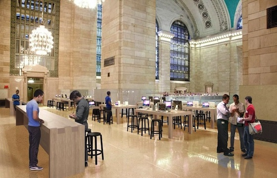 Apple S Grand Central Terminal Retail Store To Open As