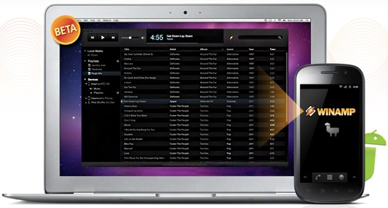 Winamp Finally Comes to Mac, Bringing Easy Android Music Syncing