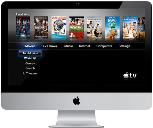how to connect 2011 imac to tv