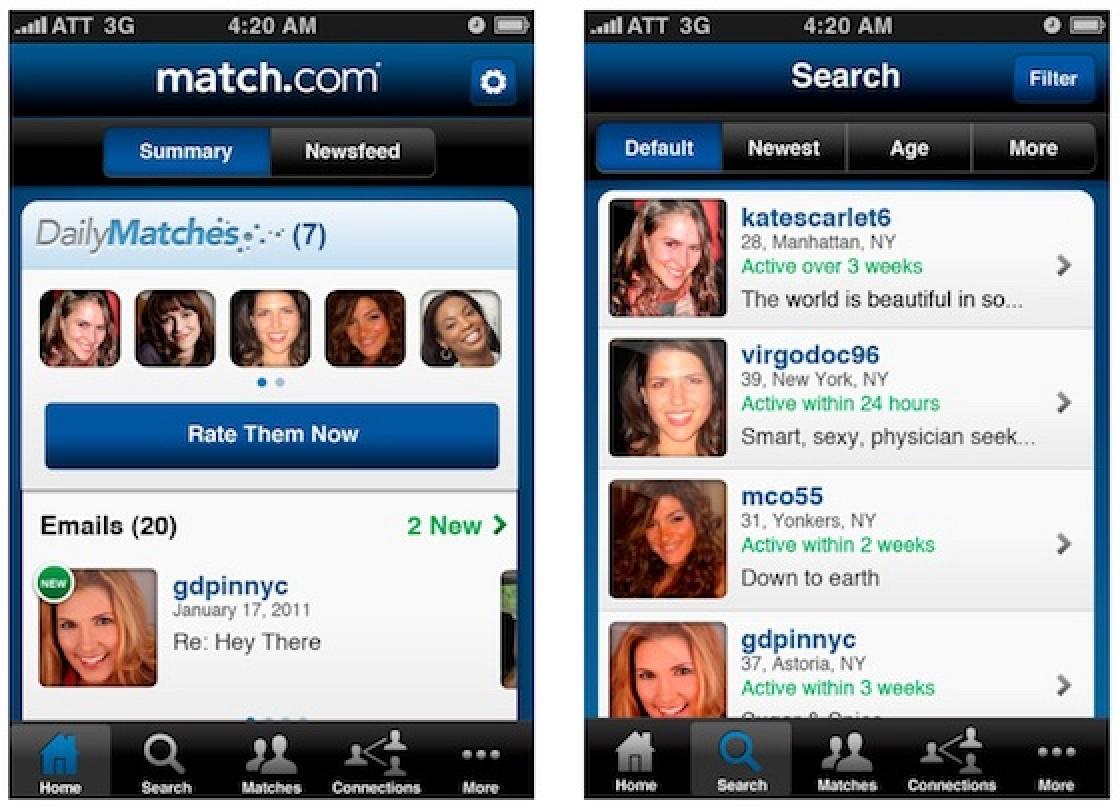 match app