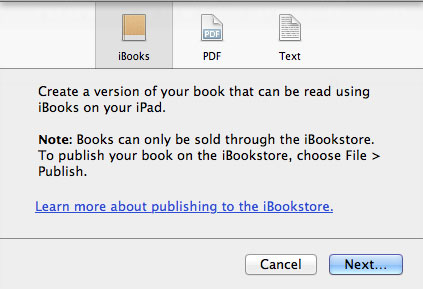 A Closer Look at iBooks Author, Textbooks and Exclusivity