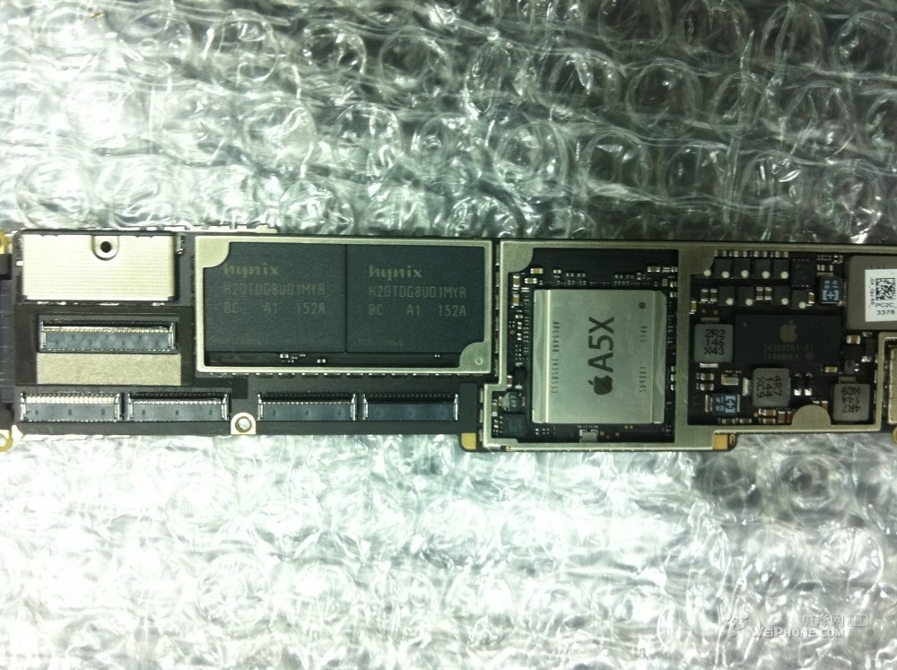 photo of ipad 3 logic board with a5x system on a chip mac rumors rh macrumors com