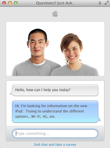 Apple Online Store Updates Sales Chat Support, Testing