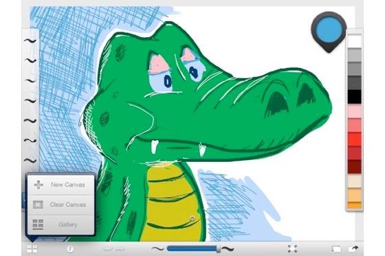 Autodesk Releases 'Sketchbook Ink' iPad Drawing App Demo'd