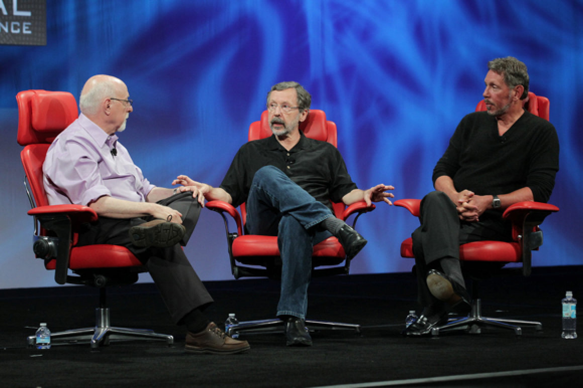 Dr Ed Catmull and Larry Ellison Remember Steve JobsIpad Mini Retina Png