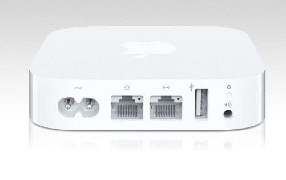 Apple Tested USB Hard Disk Support for 2012 AirPort Express
