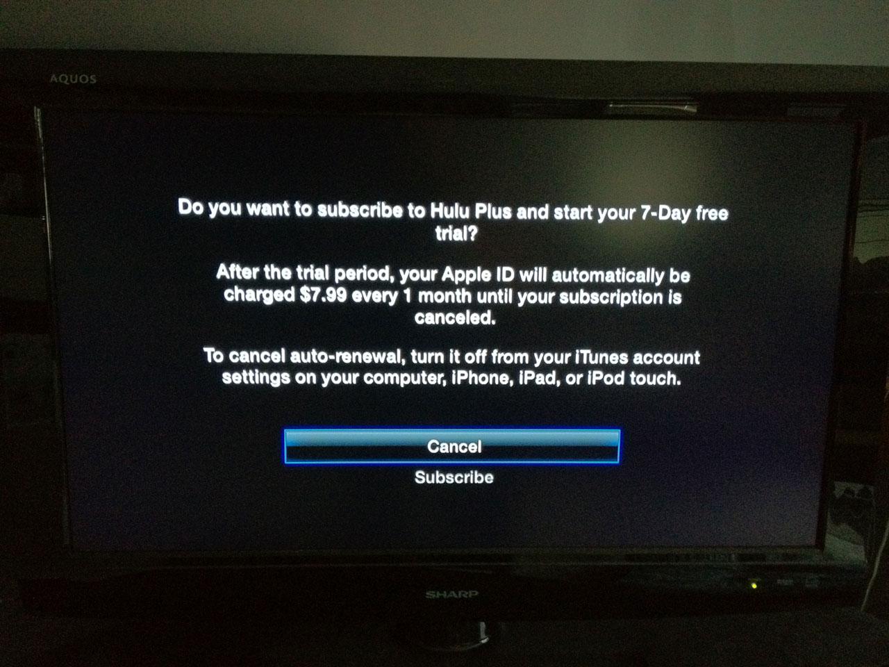 Hulu Plus Now Available on Apple TV - Mac Rumors