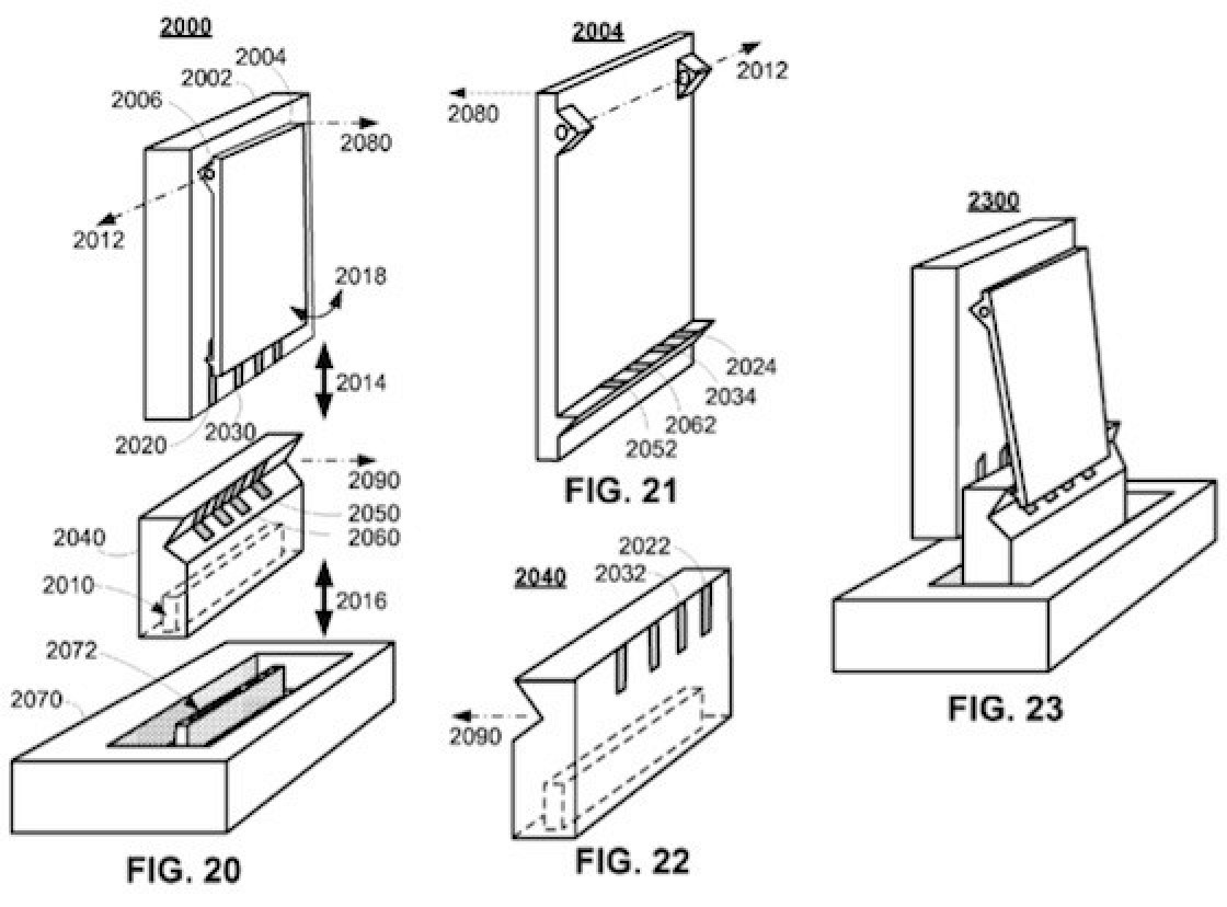 Apple Patent Application Reveals Integrated Charging