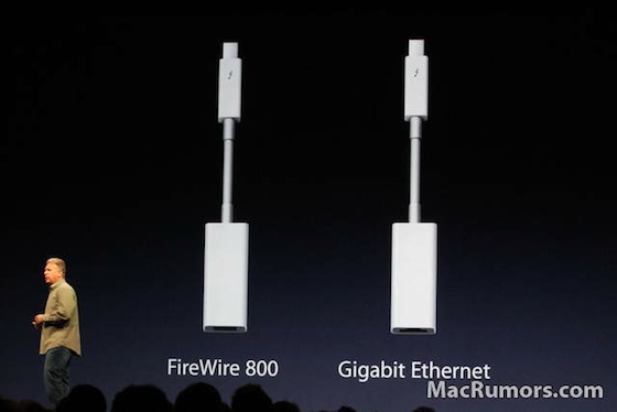 Apple\'s Thunderbolt to FireWire Adapter Rolling Out in Online ...