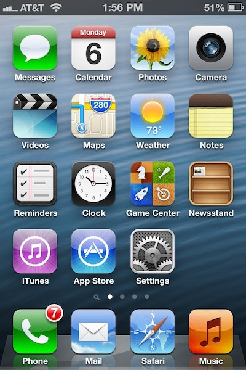 ios 6 beta 4 removes dedicated youtube app updated mac rumors. Black Bedroom Furniture Sets. Home Design Ideas
