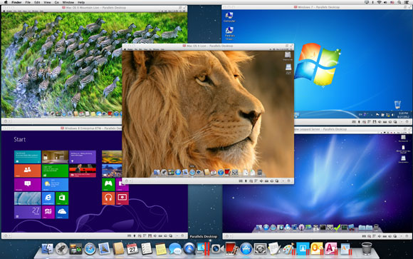 how to use parallels tools