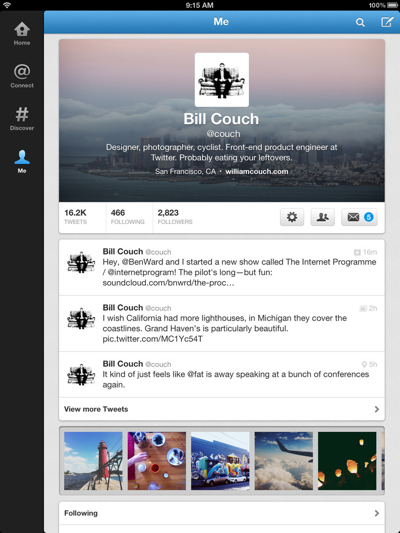 Twitter Releases Updated iPad App - MacRumors