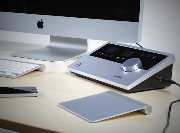 apogee officially introduces 39 quartet 39 desktop audio interface for mac macrumors. Black Bedroom Furniture Sets. Home Design Ideas