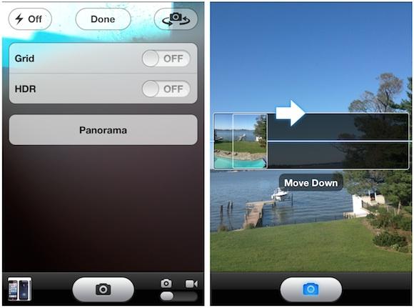 Panorama Photo Mode Coming to iPhone 4S with iOS 6 - MacRumors