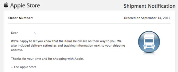 'Late' iPhone 5 Pre-Orders Being Delivered Early