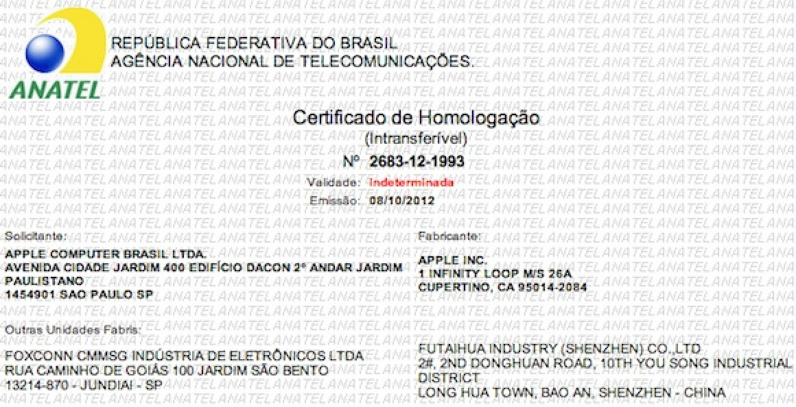 iphone 5 approved in brazil  manual suggests portuguese support for siri mac rumors Apple iMac 21.5 21.5 Inch iMac