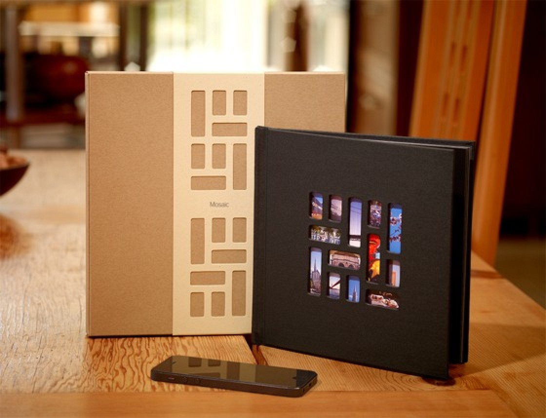 Gift A Photo Book For 20 With Mosaic Right From The IPhone