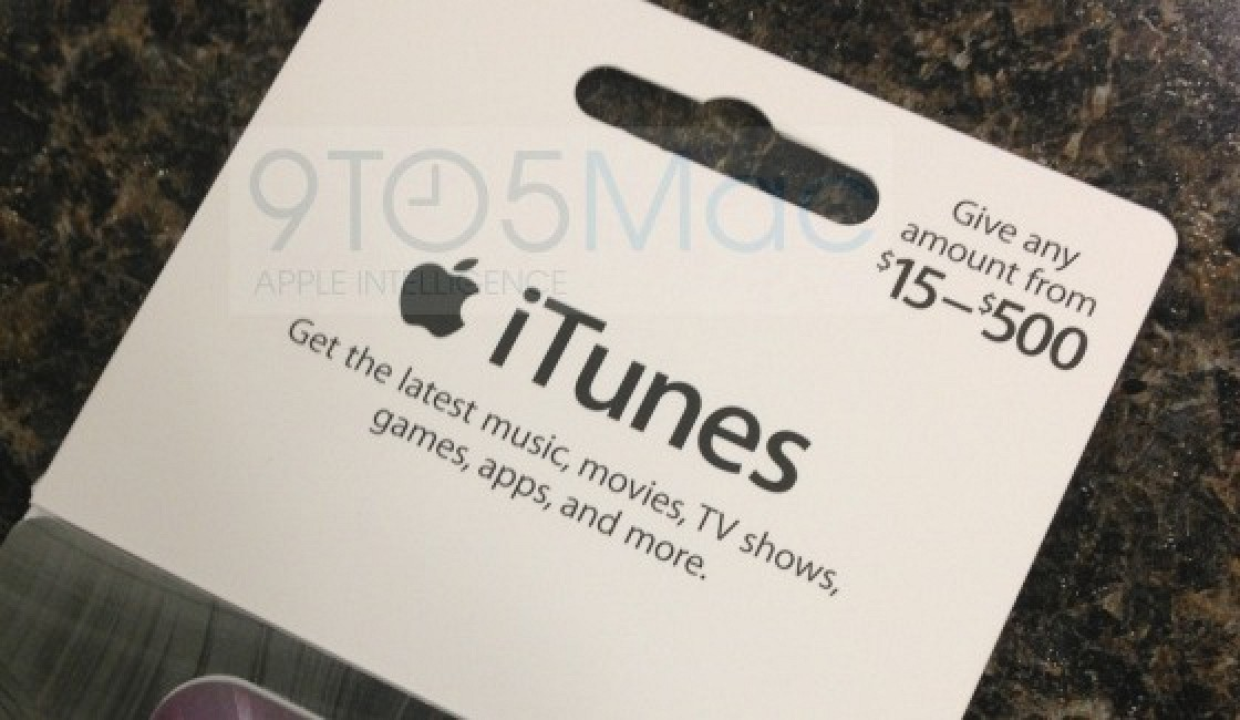 Apple Rolling Out New Itunes Gift Cards With Flexible Load Amounts