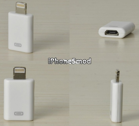 iPhone5mod ... & Unofficial 30-Pin Dock Connector and Micro-USB Lightning Adapters ... azcodes.com
