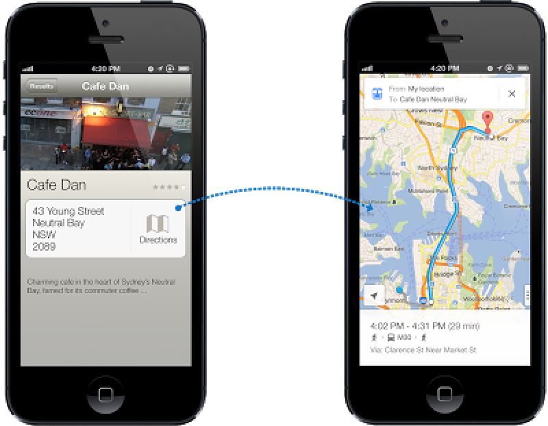 Google Maps Send To Car: Roundup Of Features In Google Maps For IOS: Better Design