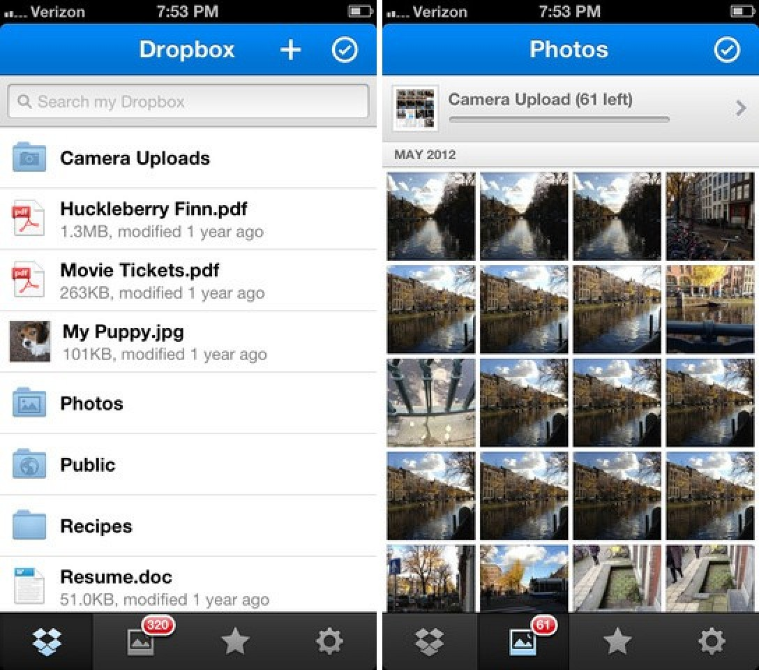 Dropbox Updates iOS App With New Photos Experience and a
