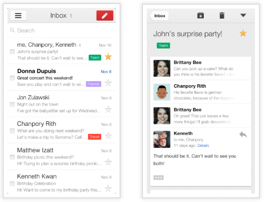 Google Releases Gmail 2 0 for iPhone and iPad - MacRumors