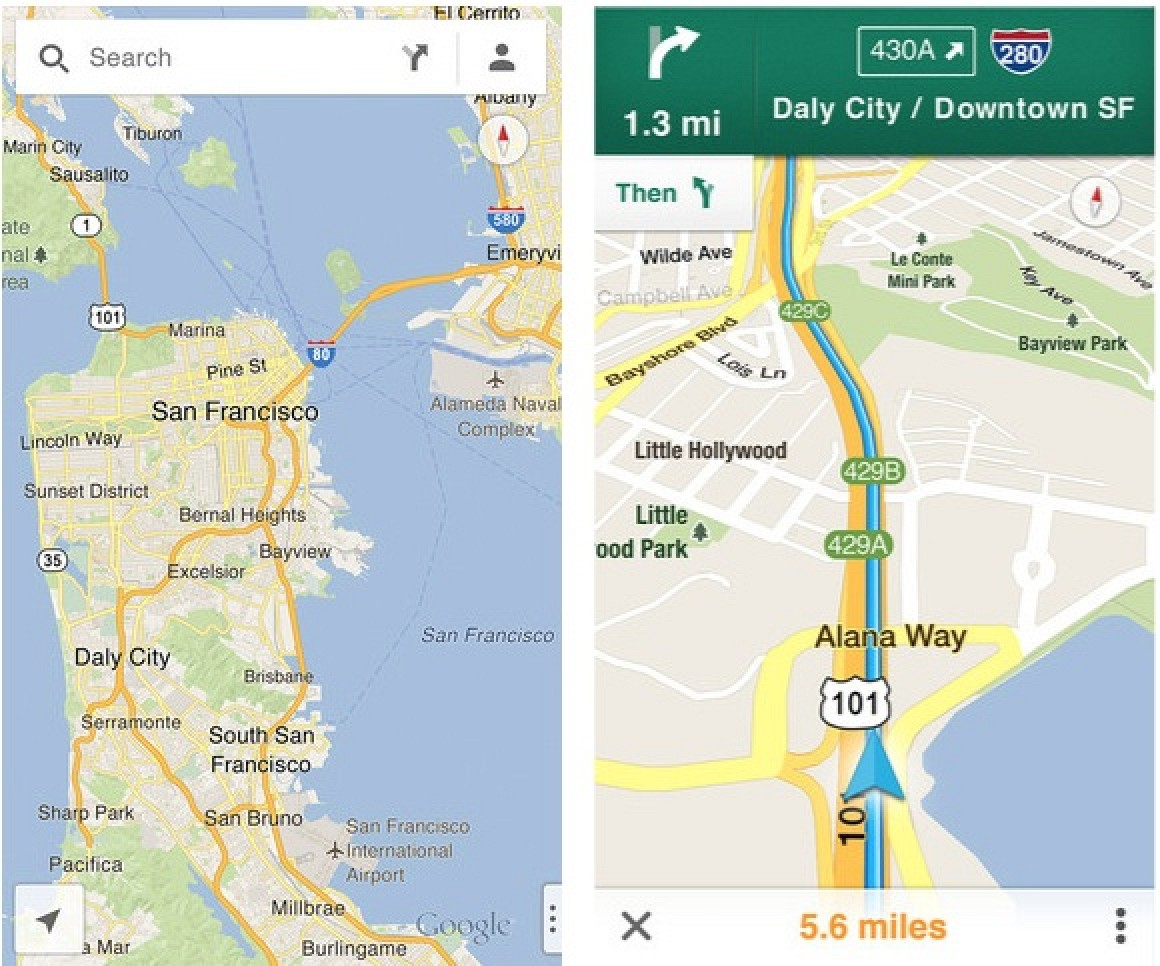 . google maps for ios now live in app store  mac rumors